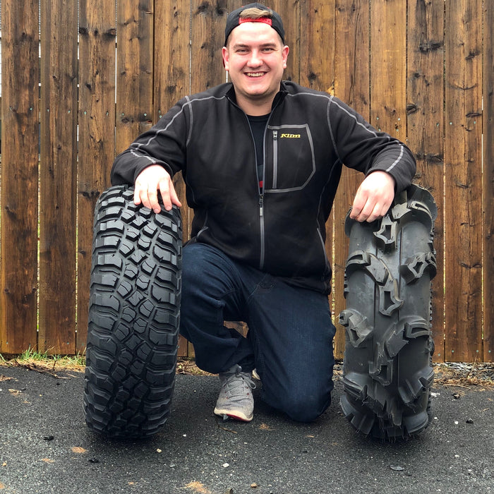 ATV Tire Basics: Bias-ply vs. Radial by HFX Motorsports Fun Expert, Brett Vanderkooi