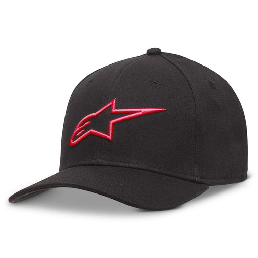 Alpinestars Ageless Curve Hat in Black/Red