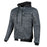JOE ROCKET Men's Great White North Textile Jacket in Vintage/Grey/Black