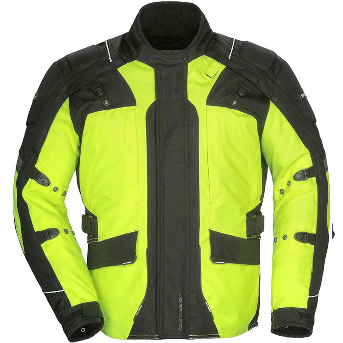 TOURMASTER WOMEN'S TRANSITION SERIES 4 JACKETS IN HIVIS