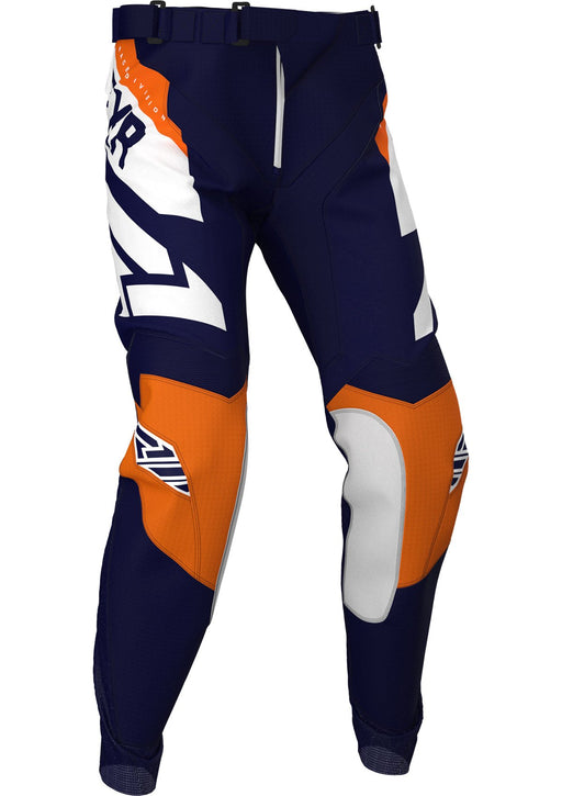 FXR Youth Clutch MX Pants in Midnight/White/Orange
