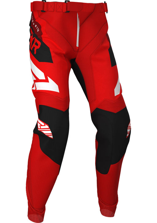 FXR Podium MX Pants in Red/Black/Maroon