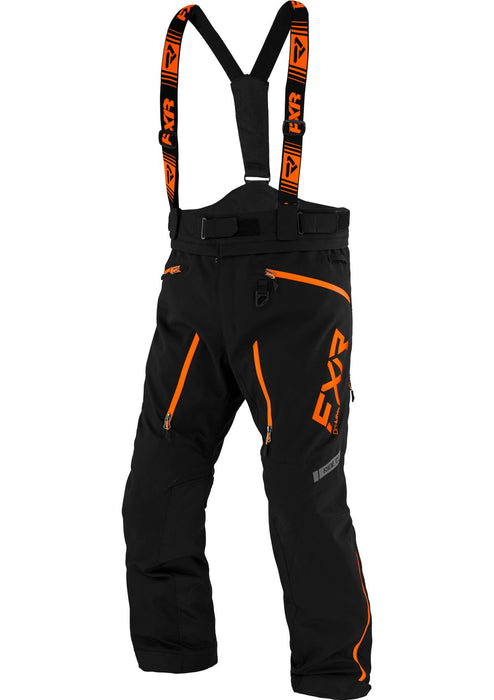 Mission Lite Pants in Black/Orange
