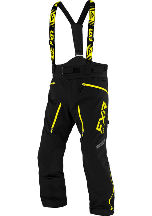 Mission Lite Pants in Black/Hi Vis