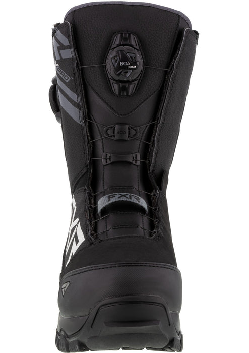 Helium Dual Boa Boots in Black