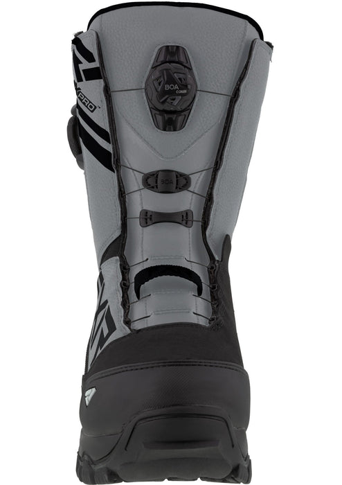 Helium Dual Boa Boots in Black/Steel