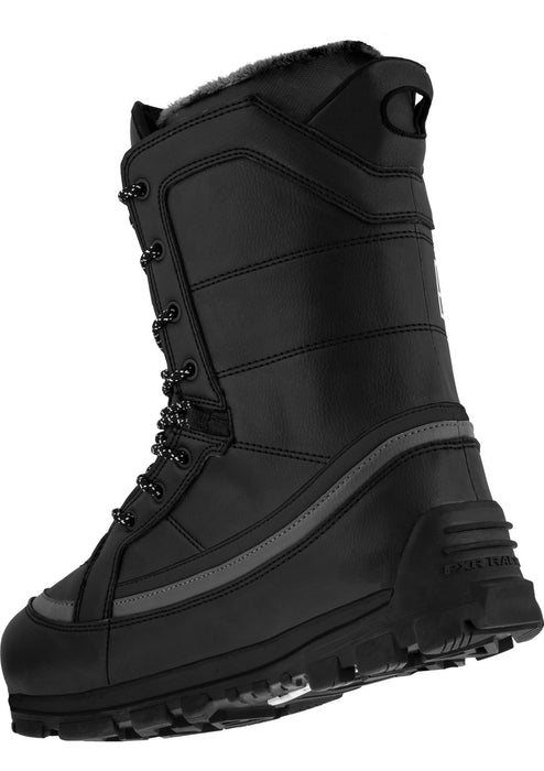 Transfer Boots in Black/Grey