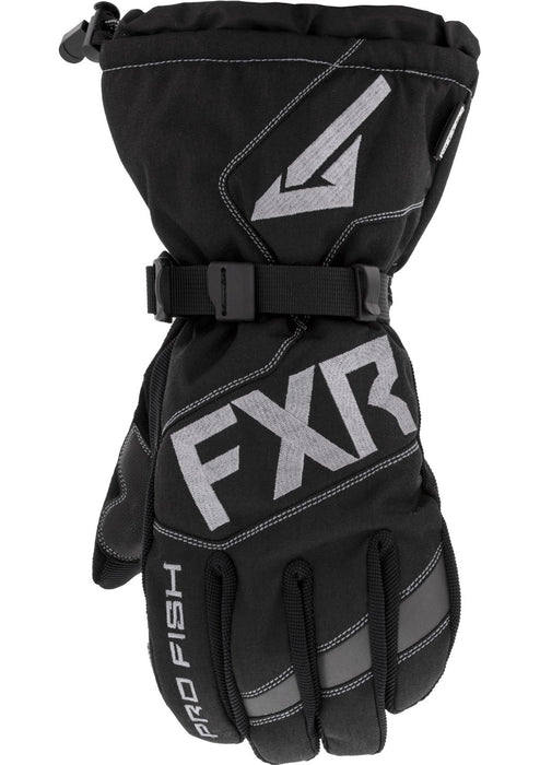 Excursion Pro Fish Gloves in Black - Front
