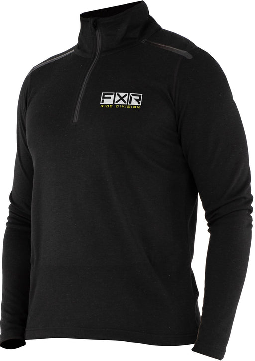 Endeavor 1/4 Zip in Black