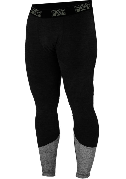 Endeavor Hybrid Merino Pants in Black/Grey Heather