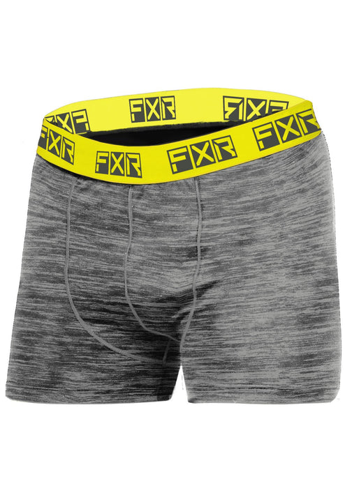 Atmosphere Boxer Brief in Grey Heather/Hi Vis