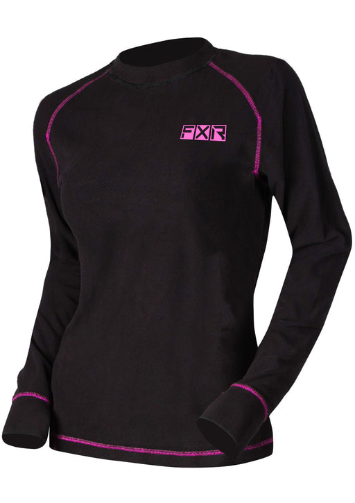 Pyro Thermal Women's Longsleeve in Black/Electric Pink