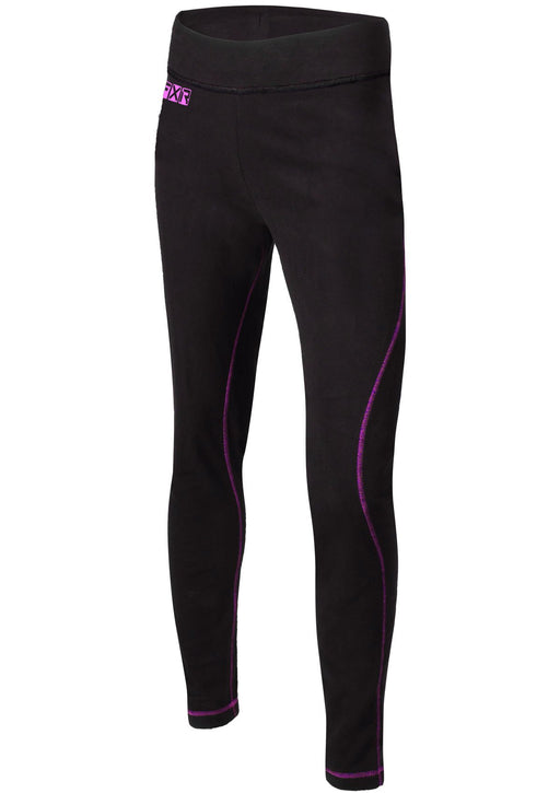 Pyro Thermal Women's Pants in Black/Electric Pink
