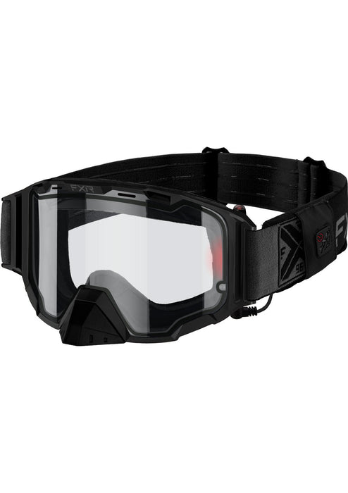 Maverick Electric Cordless MX Goggles in Black Ops