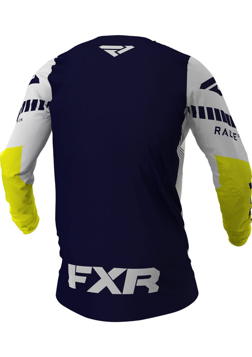 Revo Jerseys in Midnight/White/Yellow - Back