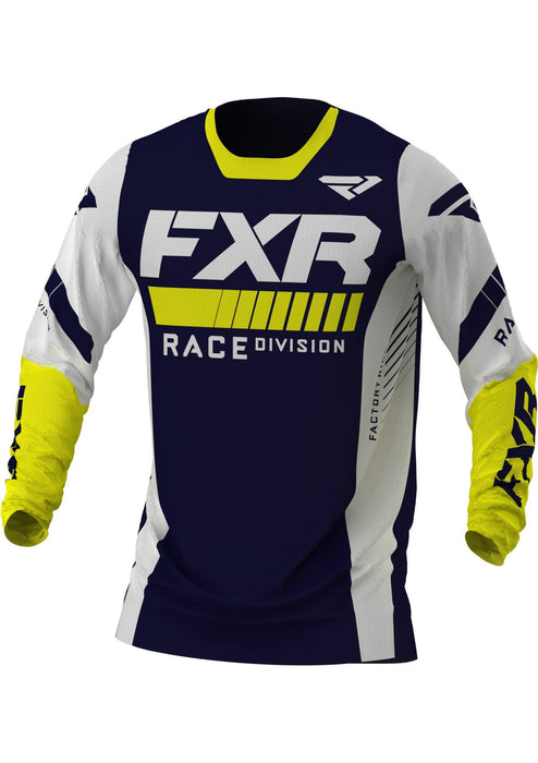Revo Jerseys in Midnight/White/Yellow - Front