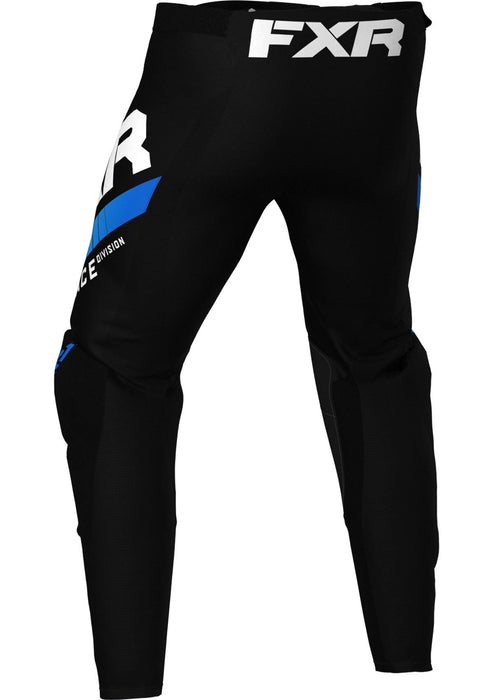 Revo Youth Pants in Black/Blue - Back