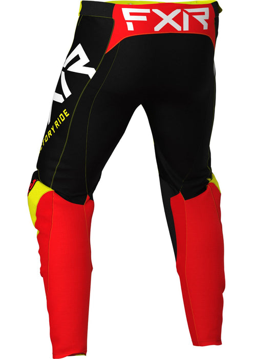 Helium Youth Pants in Yellow/Black/Red