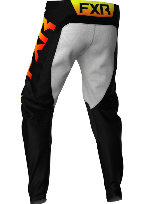 Podium Youth Pants in Black/Red/Hi Vis/Grey Aztec
