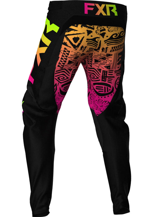Podium Youth Pants in Sherbert Aztec