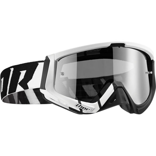 Thor Sniper Barred Goggles in Black/White