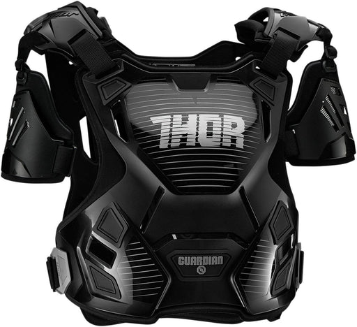 Thor Women's Guardian Chest and Back Protector in Black/Silver