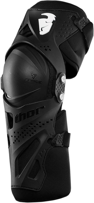 Thor Youth Force XP Knee Guards in Black