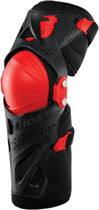 Thor Youth Force XP Knee Guards in Red