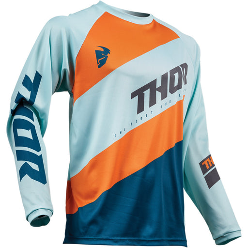 Thor Youth Sector Shear Jerseys in Sky/Slate
