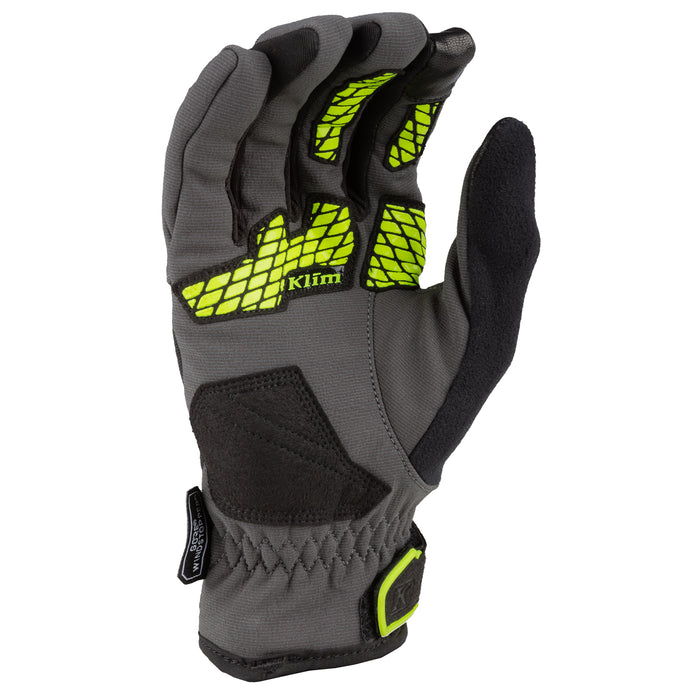 Inversion Gloves in Asphalt-Hi-Vis