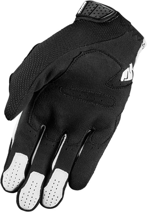 Thor Rebound Motocross Glove in Black/White