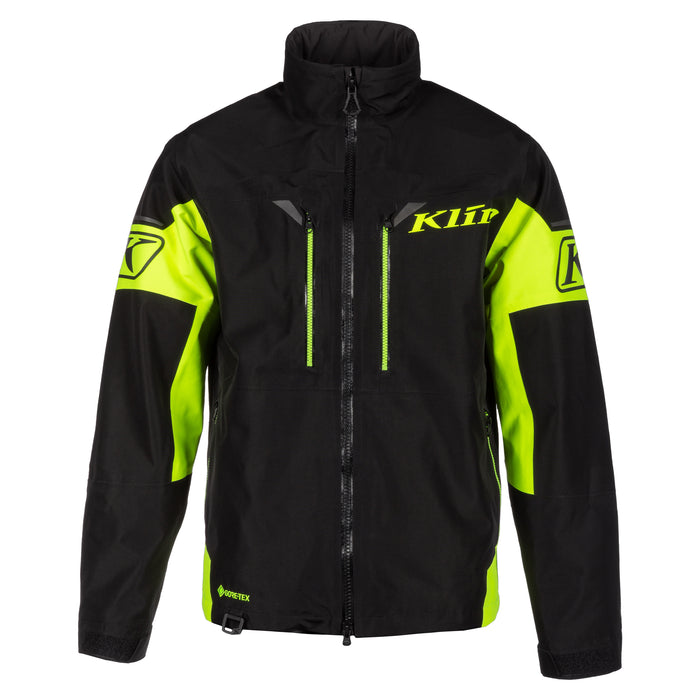Klim Tomahawk Jacket in Black - Hi-Vis