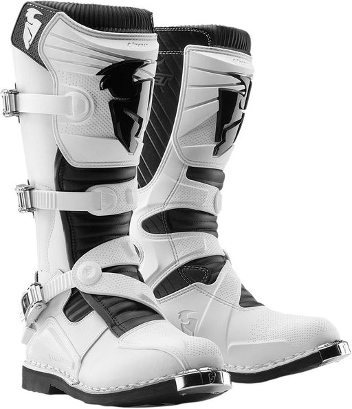 Thor Ratchet Motocross Boots in White