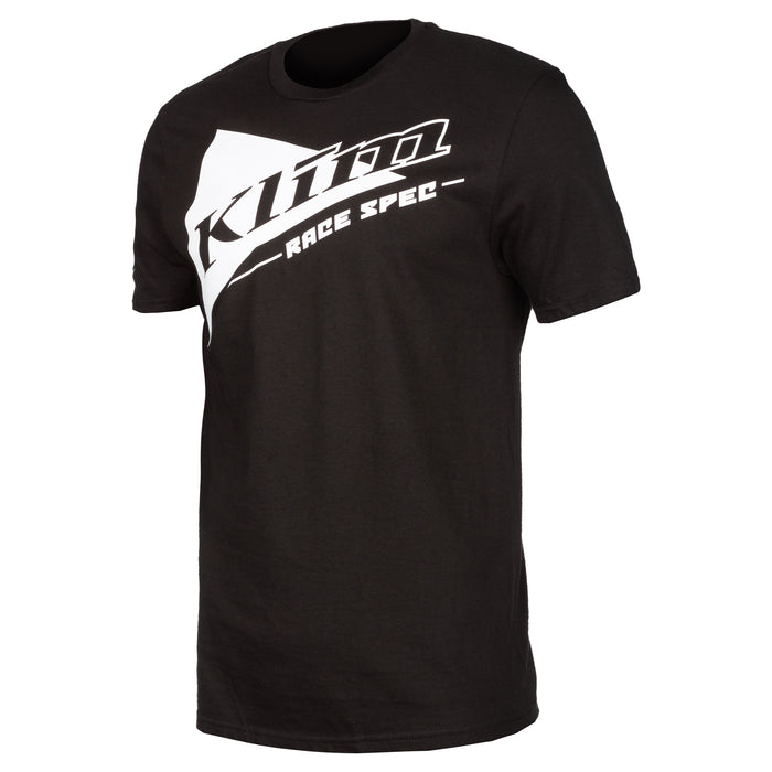 Race Spec Short Sleeve Tee in Black - White