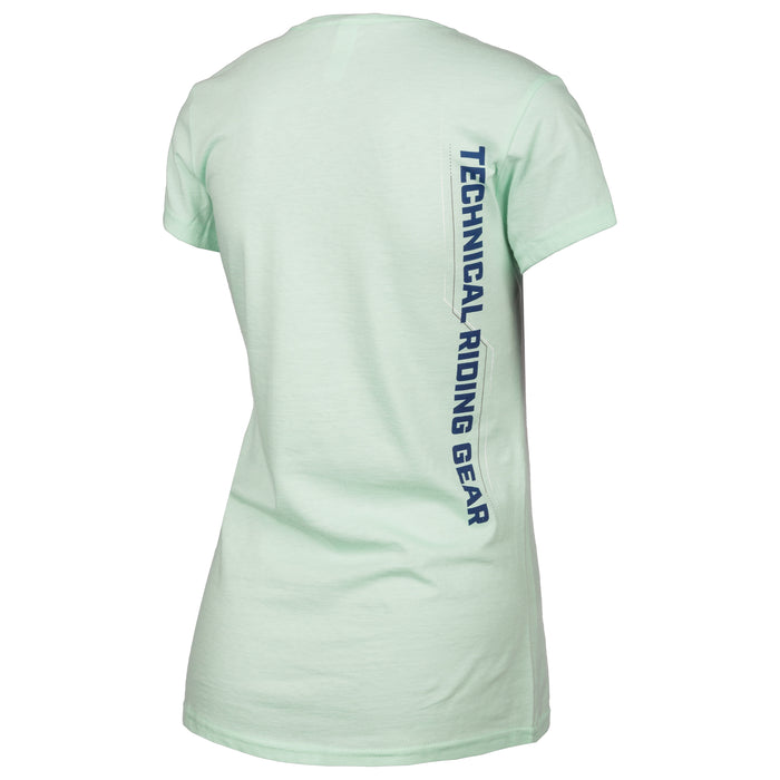 Klim Excel Short Sleeve Tee in Mint - Navy