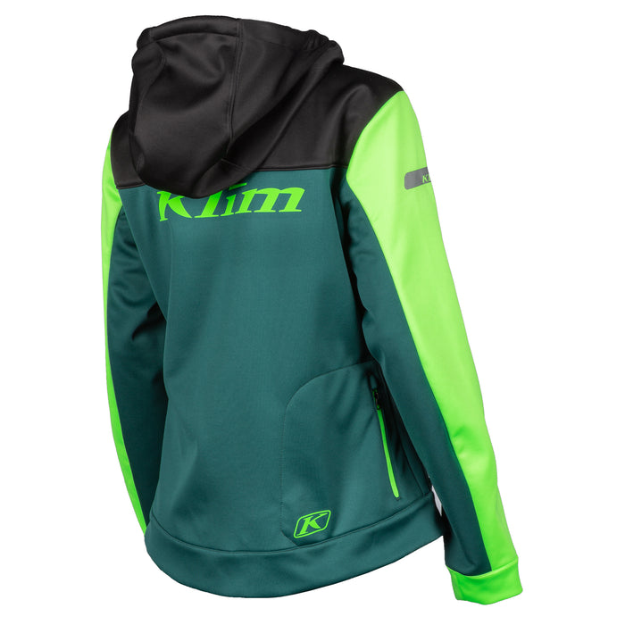 Klim Evolution Hoodie in Black - Electrik Gecko