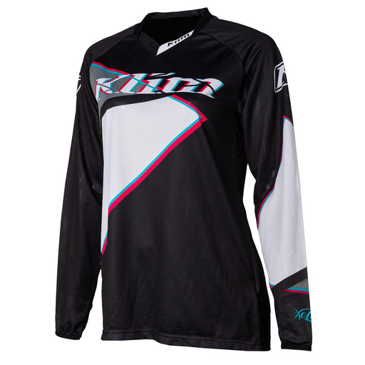Klim Womens XC Lite Jersey in Shattered Black - 2021