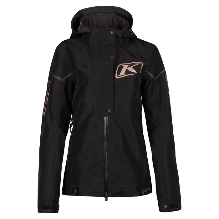 Klim Alpine Jacket in Black - Rose Gold