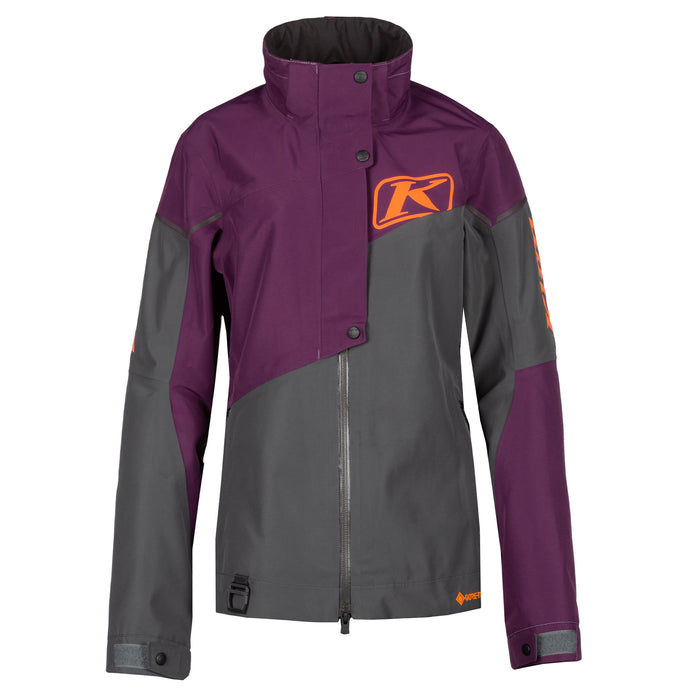 Klim Alpine Jacket in Deep Purple - Asphalt