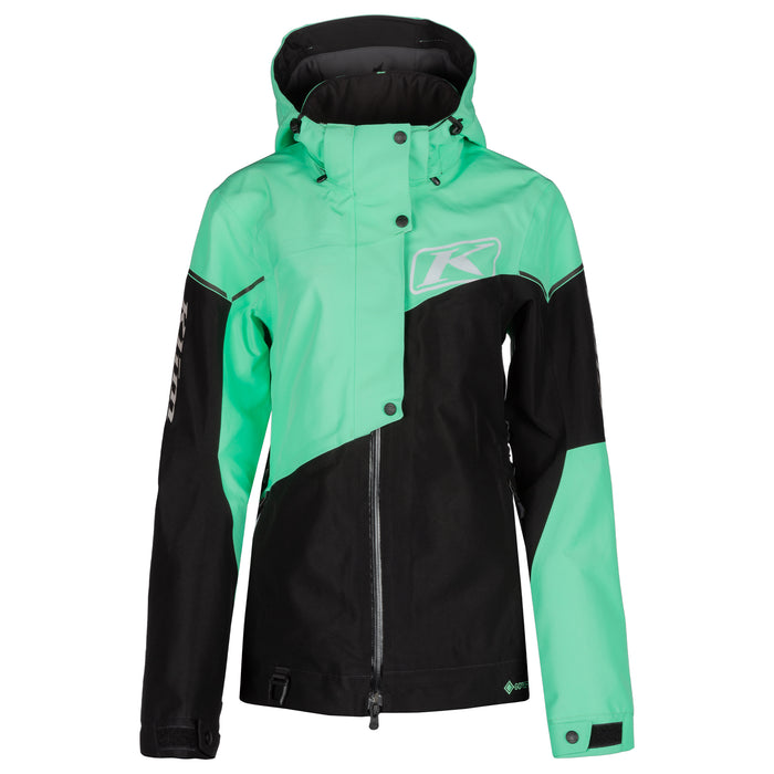Klim Alpine Jacket in Wintermint - Black