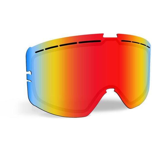509 Kingpin Ignite Lenses Snowmobile Goggles 509 Fire Mirror/Rose Tint