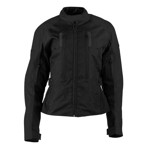 Joe Rocket Victoria CE Certified Textile Jackets in Black - Front