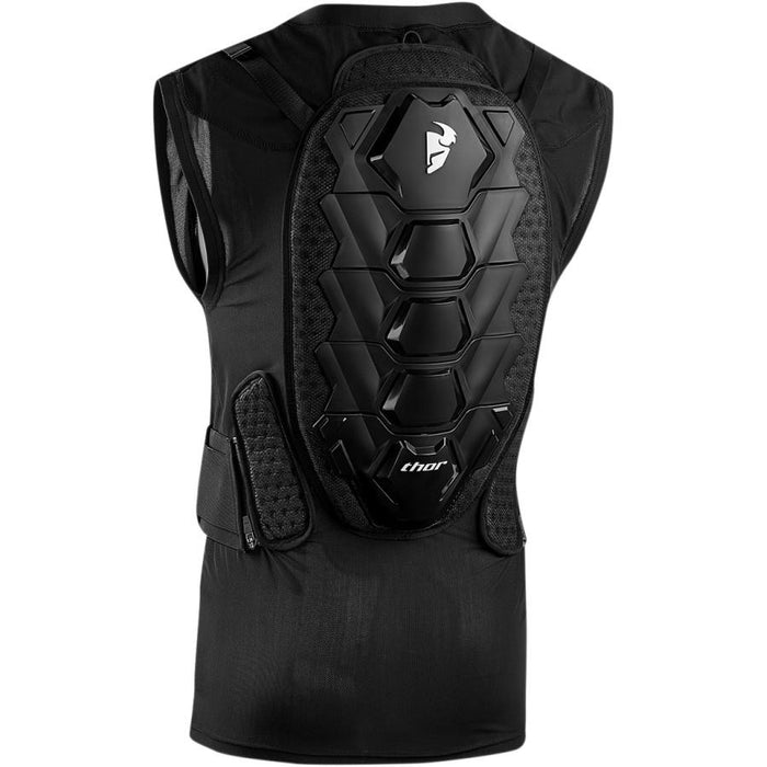 Thor Sentry Vest Guard in Black - Back