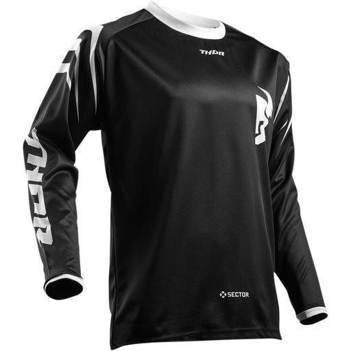 Thor Youth Sector Zones Jerseys in Black