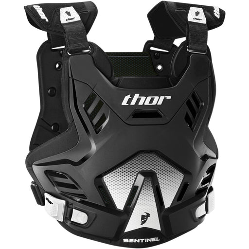 Thor Sentinel GP Chest And Back Protectors in Black/White