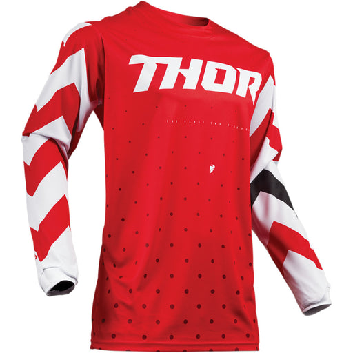 Thor Pulse Stunner Jerseys in Red/White