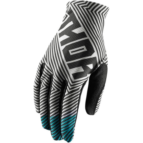 Thor Youth Void Glove BLACK/TEAL