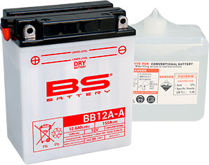 BS Battery Dry Range BB12A-A