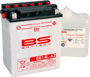 BS Battery Dry Range BB14L-A2