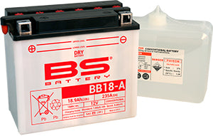 BS Battery Dry Range BB18-A